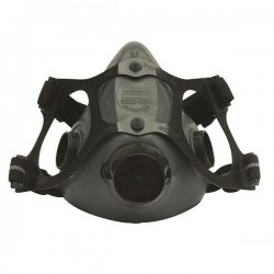 Honeywell - 550030MHW - Honeywell 5500 Series Half-Mask Respirator, Medium