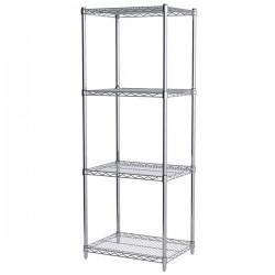 Logistics Supply - AWS631824SUAM - Akro-Mils Wire Shelf Starter Unit, 63 Shelf Post, 18 x 24 Wire Shelf