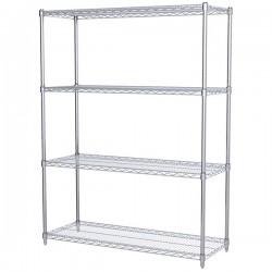 Logistics Supply - AWS631848SUAM - Akro-Mils Wire Shelf Starter Unit, 63 Shelf Post, 18 x 48 Wire Shelf