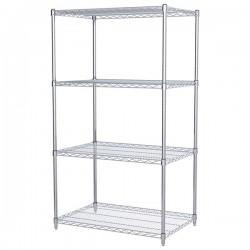 Logistics Supply - AWS632436SUAM - Akro-Mils Wire Shelf Starter Unit, 63 Shelf Post, 24 x 36 Wire Shelf