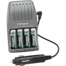 Energizer - CH15MNCP4EN - Energizer Recharge 15-Minute Fast Charger for AA/AAA Batteries