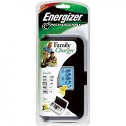 Energizer - CHFCEN - Energizer Recharge Family Charger (For AA/AAA/C/D/9V Batteries)
