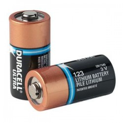 Zoll Medical - DL123AZ - Duracell Ultra CR123A Lithium Batteries