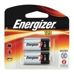 Energizer - EL123APB2EN - Energizer 123 Lithium Battery, 2/Pkg