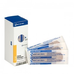 First Aid Only - FAE3001AC - Fabric Bandages, 1 x 3, 25/Box