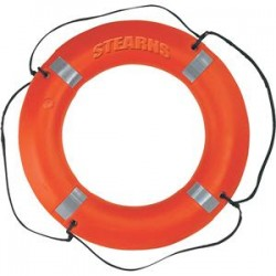 Coleman Company - I030ORGREFST - Stearns Ring Buoy, Reflective, 30