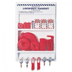 Honeywell - LSE102FHW - Honeywell Large Lockout/Tagout Center