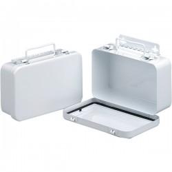 First Aid Only - M5017AC - 10-Unit Empty Case w/ Gasket, Metal, 7 1/2L x 4 1/2H x 2 3/8W