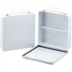 First Aid Only - M5020AC - 24-Unit Empty Case w/ Gasket, Metal, 9 1/16L x 9 1/16H x 2 3/8W