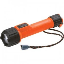 Energizer - MS2AALEDEN - Energizer Intrinsically Safe LED Flashlight, 2AA