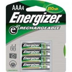 Energizer - NH12BP4EN - Energizer Recharge AAA Batteries, 700 mAh, 4/Pkg
