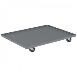 Akro-Mils / Myers Industries - RU843HR1828AM - Akro-Mils Solid Steel Dolly (Lips Up)