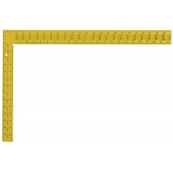 Swanson Tools - TS154 - 24-Inch Steel Yellow Rafter Square- 16-Inch x 24-Inch