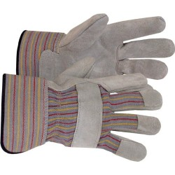 Boss / Cat Gloves - 167L - Large Split Leather Palm Gloves - One Pair