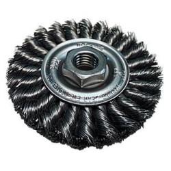 "Makita - 743212-A - 4"" Knotted Twist Wire Brush Wheel F/9005b-950"