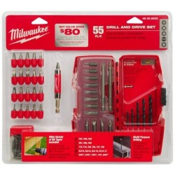 Milwaukee Electric Tool - 48-32-8002 - 55-Piece Drill/Driver Set
