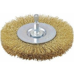 Vermont American - 16792 - 3-Inch Fine Crimped Wire Wheel with Arbor Attached