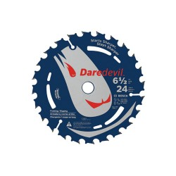 Bosch - DCB624 - 6-1/2-Inch x 24-Tooth Daredevil Framing Circular Saw Blade