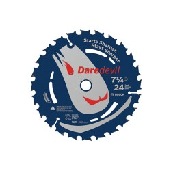 Bosch - DCB724B3 - 7-1/4-Inch x 24-Tooth Daredevil Framing Circular Saw Blades - 3 Pack