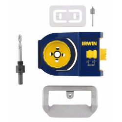IRWIN Industrial Tool - 3111001 - Door Lock Installation Kit - Carbon