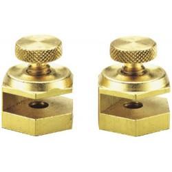General Tools - 803 - Solid Brass Stair Gauge Set - 1 Pair