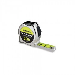 Komelon - 430HV - 30-Foot x 1-Inch Chrome Cased Tape Measure