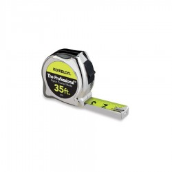 Komelon - 435HV - 35-Foot x 1-Inch Chrome Cased Tape Measure
