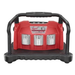 Milwaukee Electric Tool - 1156 - Milwaukee 48-59-0280 Multi-Bay Charger for All Slide-On NiCD and V18/V28 Li-Ion Batteries