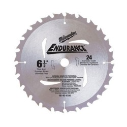 Milwaukee Electric Tool - 1157 - Milwaukee 48-40-4108 6-1/2 Framing & Ripping Circular Saw Blade