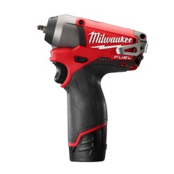 Milwaukee Electric Tool - 1247 - Milwaukee 2452-22 M12 FUEL 1/4 Impact Wrench Kit