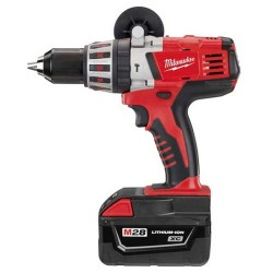 Milwaukee Electric Tool - 1408 - Milwaukee 0726-22 M28 28-Volt 1/2-Inch Hammer Drill Kit