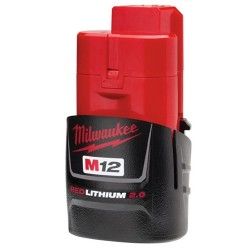 Milwaukee Electric Tool - 1725 - Milwaukee 48-11-2420 M12 REDLITHIUM 2.0 Compact Battery Pack