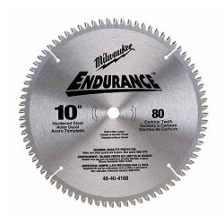 Milwaukee Electric Tool - 1820 - Milwaukee 48-40-4168 10 Non-Ferrous Metal Cutting Circular Saw Blade