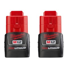 Milwaukee Electric Tool - 2590 - Milwaukee 48-11-2411 M12 REDLITHIUM Compact Battery Two Pack