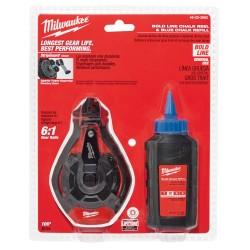 Milwaukee Electric Tool - 347037 - Milwaukee 48-22-3982 100' BOLD LINE CHALK N REEL W BLUE