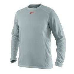 Milwaukee Electric Tool - 375536 - Milwaukee 411G-S WORKSKIN Light Weight Long Sleeve Shirt, Gray, Small