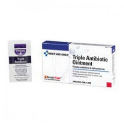 First Aid Only - 12-001 - First Aid Only 12-001 Triple Antibiotic Ointment; 1/32 oz., ...