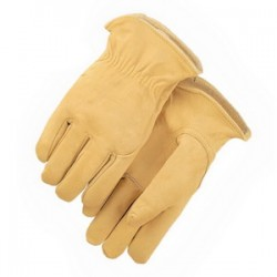 Majestic Glove - 1510BAK/9 - Majestic Glove 1510BAK Cowhide Leather Driver's Gloves; Medi...