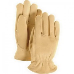 Majestic Glove - 1510/8 - Majestic Glove 1510 Cowhide Leather Driver's Gloves; Small (...