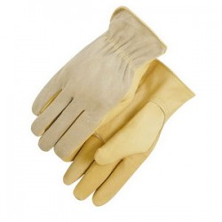 Majestic Glove - 1532L - Majestic Glove 1532 Cowhide Leather Driver's Gloves; Large (10)