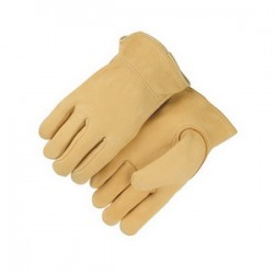 Majestic Glove - 1547/12 - Majestic Glove 1547 Elkskin Leather Driver's Gloves; 2X-Larg...