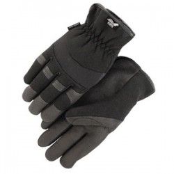 Majestic Glove - 2136BK/10 - Majestic Glove 2136 ArmorSkin Synthetic Leather Mecha...