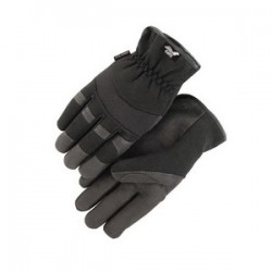 Majestic Glove - 2136BK/9 - Majestic Glove 2136 ArmorSkin Synthetic Leather Mecha...