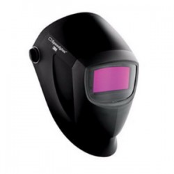 3M - 04-0100-20NC - 9000 Series, Auto-Darkening Welding Helmet, 8 to 12 Lens Shade, 2.13 x 4.09 Viewing AreaBlack