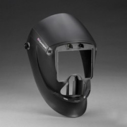 3M - 04-0112-00NC - 9000 Series, Passive Welding Helmet, 10 Lens Shade, 2.13 x 4.09 Viewing AreaBlack