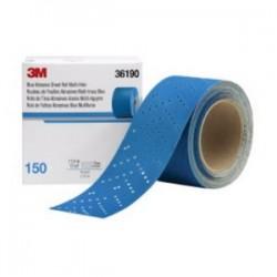 3M - 05113136190 - 3M05113136190 Hookit Blue Abrasive Multi-Hole Sheet Roll; 2...