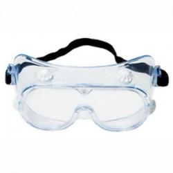 3M - 40661 - 3M 40661 334AF Safety Splash Goggles; Standard, Clear Frame, ...