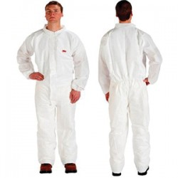 3M - 4510CS-BLK-4X - 3M 4510CSBLK-4XL Disposable Protective Anti-Static Coverall;...