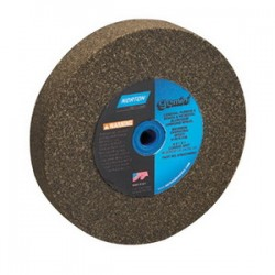 Norton - 07660788295 - Norton 10' X 1' X 1 1/4' 36/46 Grit Coarse Aluminum Oxide Brown Gemini Alundum Grinding Wheel For Use With Bench And Pedestal Grinders On Metal, ( Each )
