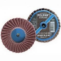 Pferd - 42808 - PFERD 42808 Polifan Mini Quick-Change Flap Disc; 3 Inch...
